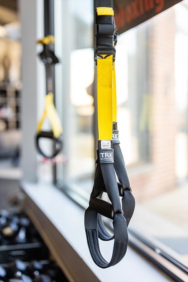 yellow trx strap